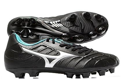 985c9e652f1d Rebula V3 FG Football Boots - Black/Silver/Diva Blue - Size 7.5