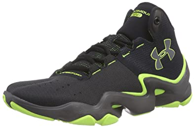 san francisco f8755 28188 Under Armour Mens Speedform Phenom, Charcoal Yellow, 7.5 D