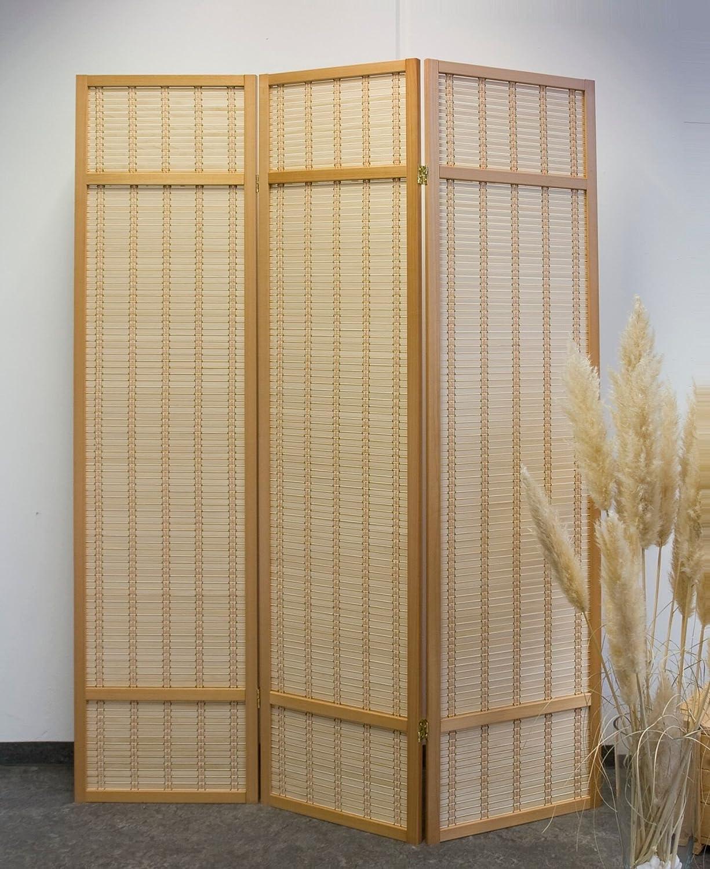 Wuh naturaleza separador – disponible en 3,4,5 y 6 Panel, Crema, 3 ...