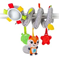 Benbat Dazzle Friends On The Go Toys Hanging Spiral Toy for New Born and Above, Multi/Colour
