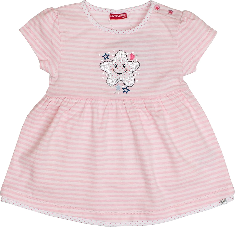 SALT AND PEPPER Baby-M/ädchen B Dress Summer Stripe Kleid