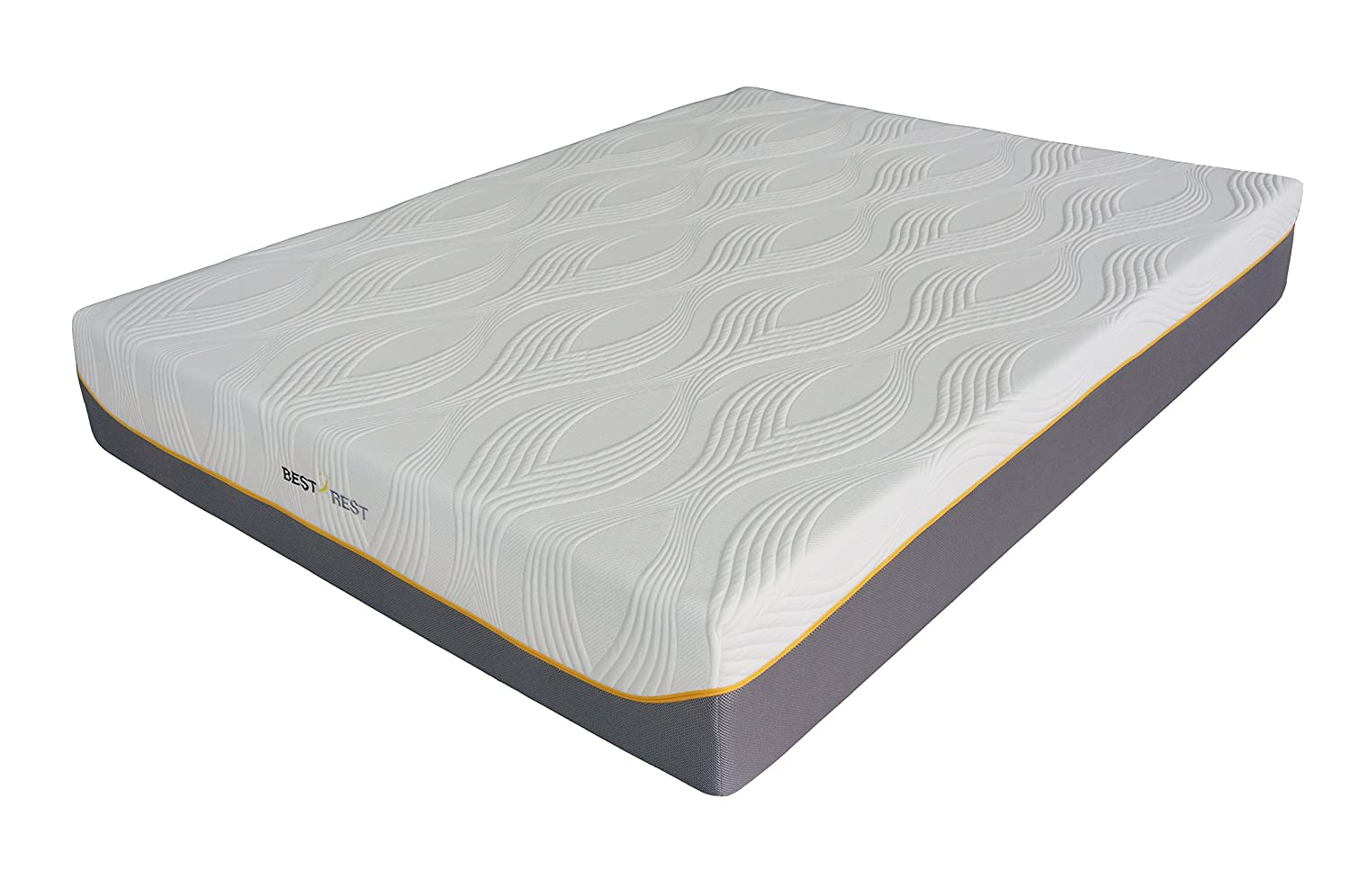 Best Rest Cooling Gel Memory Foam 11 Inch Mattress with CertiPUR-US Certified Foam, Queen