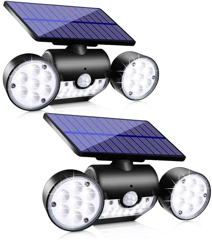 Topmante Solar Motion Sensor Lights Outdoor