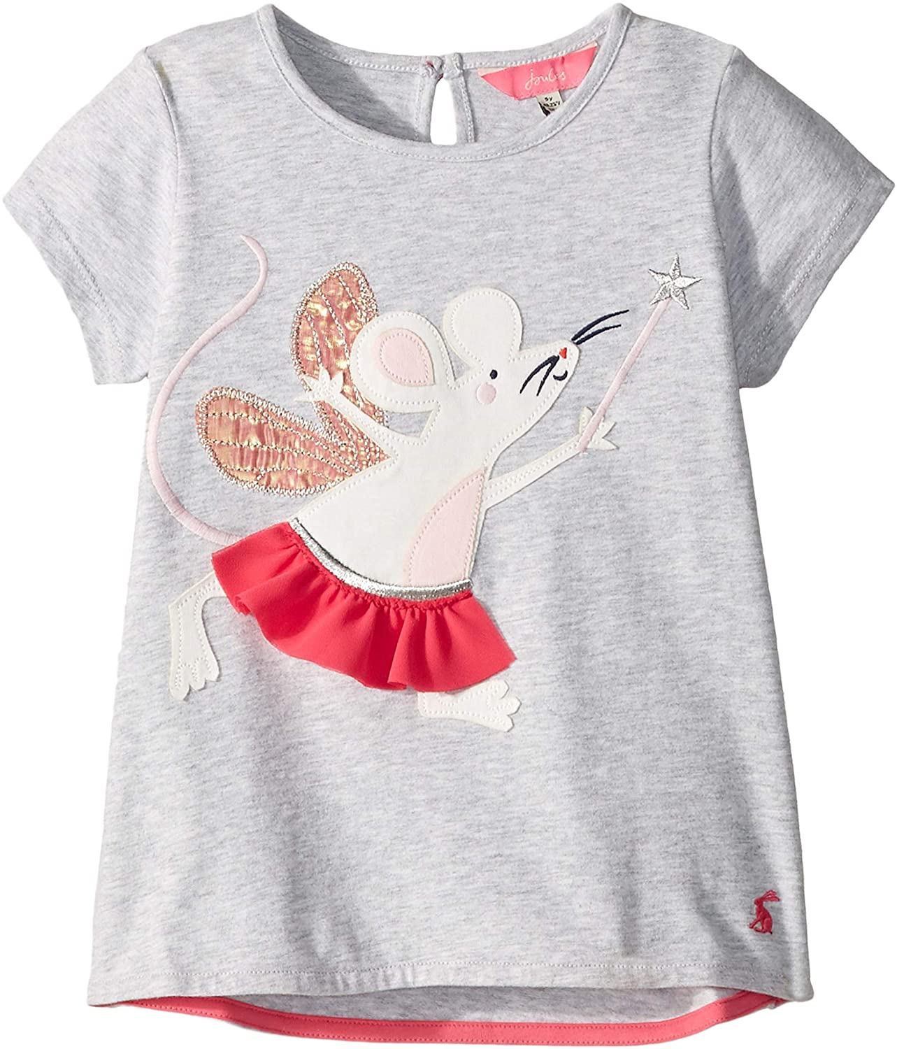 2fb46336f Amazon.com: Joules Kids Baby Girl's Maggie T-Shirt (Toddler/Little Kids):  Clothing