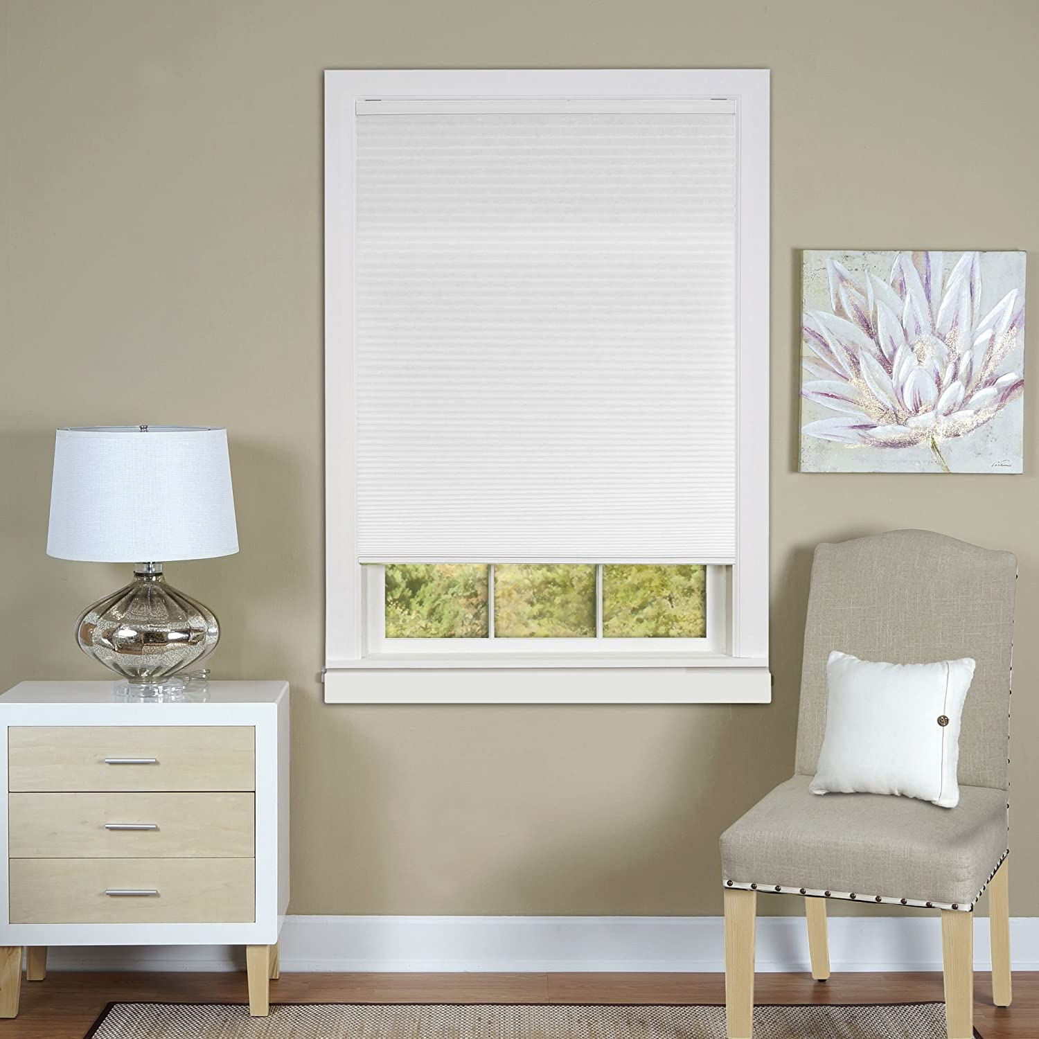 shades blinds com honeycomb walmart ip blackout arlo cellular cordless cell window white