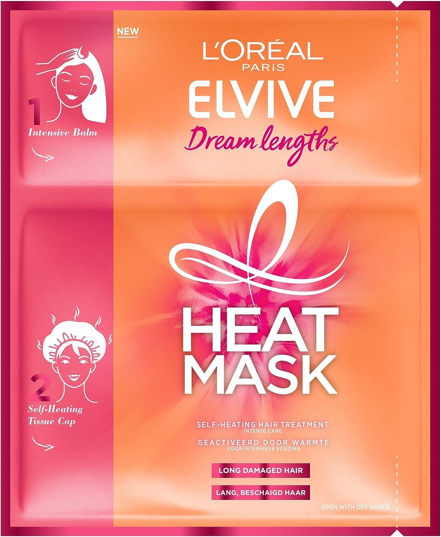 L'Oréal Paris Elvive 3600523627257 mascarilla para el pelo Mujeres 40 ml - Mascarillas para el cabello (Mujeres, Cabello dañado, 40 ml, Nutrición, Fortalecimiento, Aceite de ricino)
