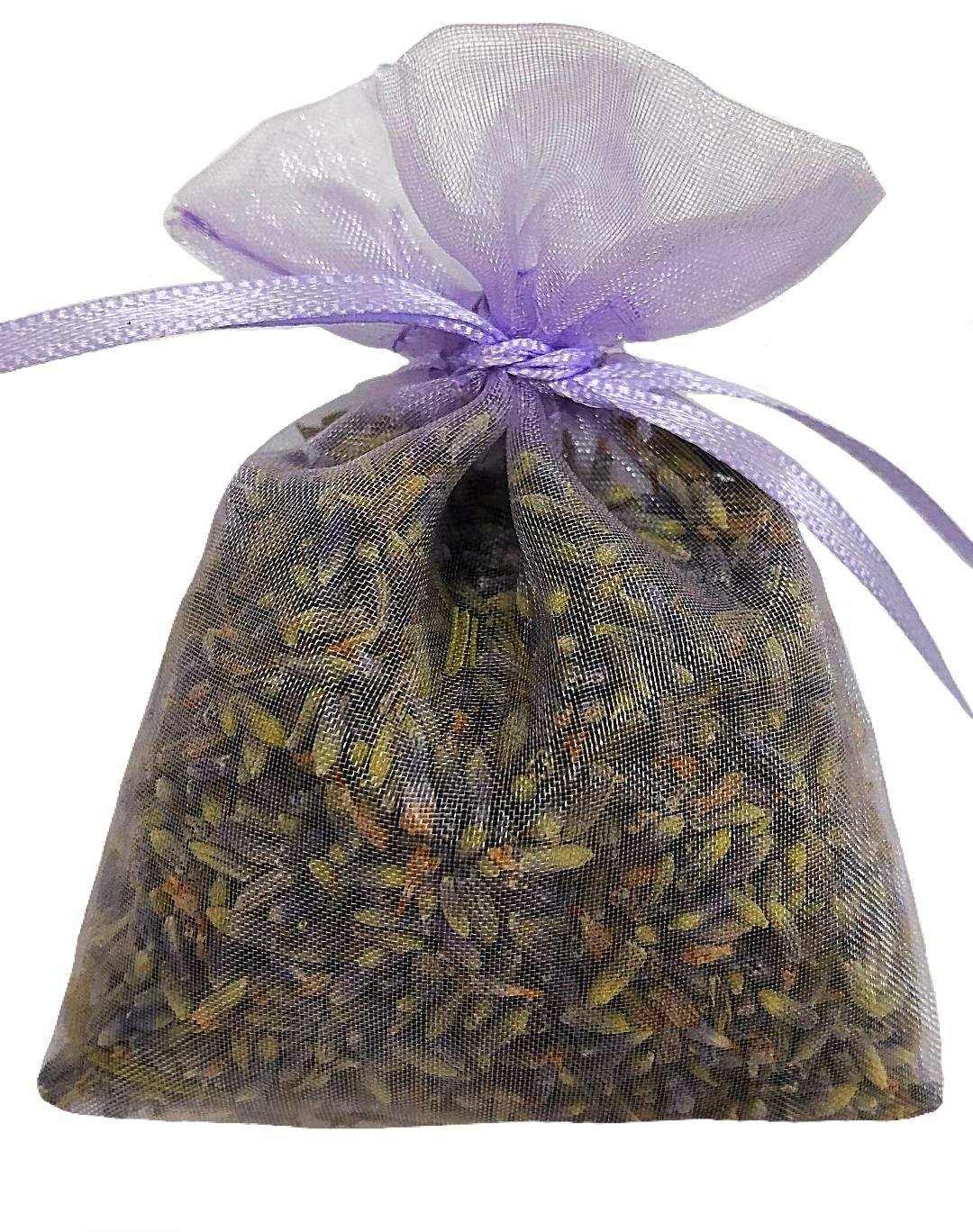 Zziggysgal Dried Lavender Bouquets, 4 per Order, Very Fresh Harvest from California, 15 Inches Tall (California Grosso)