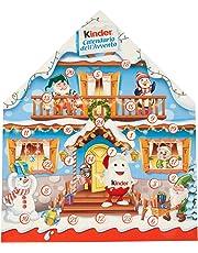 Kinder Calendario Avvento Appendibile Snack al Cioccolato - 24 Pezzi