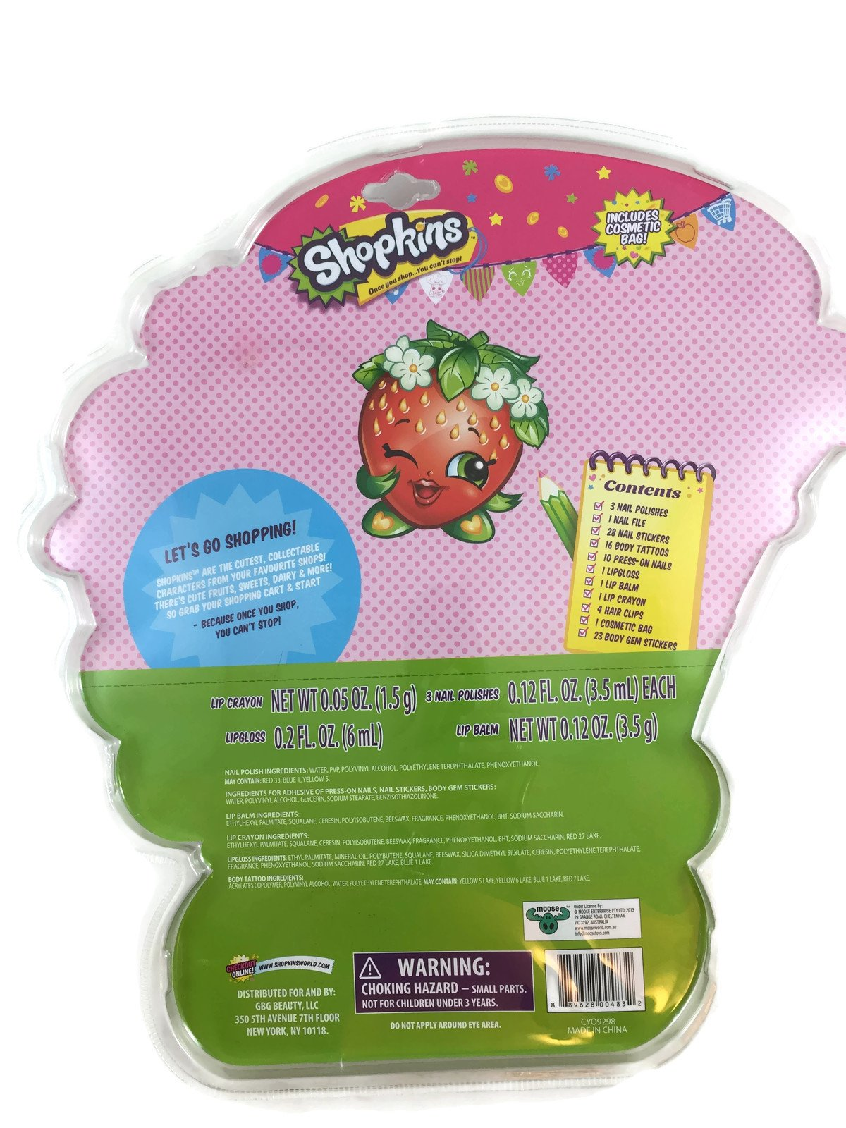 Shopkins Beauty Set - Over 80 Pieces Included by Shopkins (Image #2)