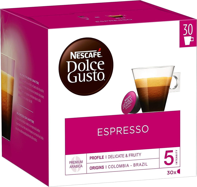 Nescafe Dolce Gusto 30 Piece Box Espresso Coffee Espresso Lungo 30 Capsules Amazon Co Uk Kitchen Home