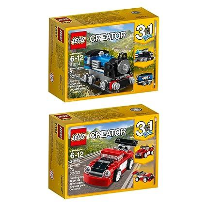 LEGO Baukästen & Sets LEGO CREATOR 31089 SUNSET TRACK RACER BUILDS 3 MODELS FOR AGES 7 YEARS & UP