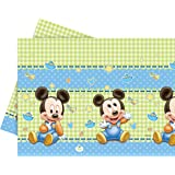 Kunststoff Baby Mickey Mouse Tischdecke, 1,8 m x 1,2 m