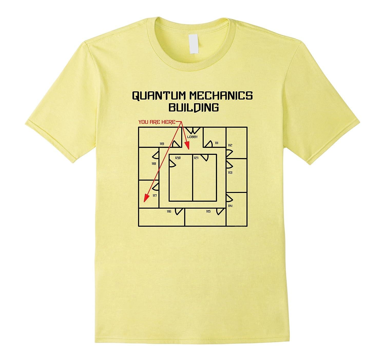104e2ab68 Quantum Mechanics Building Funny Physics T Shirt-TJ – theteejob