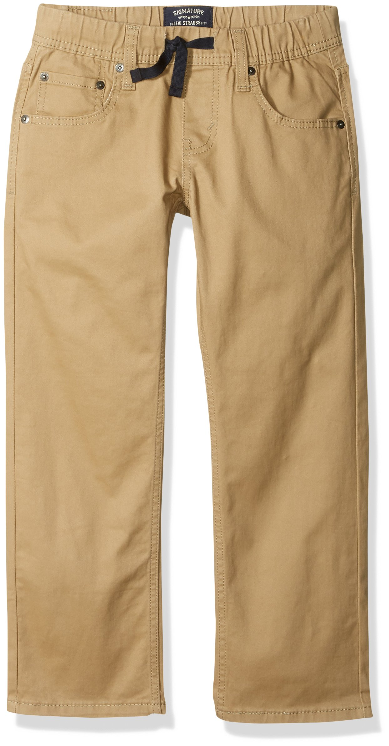 Signature by Levi Strauss & Co. Gold Label Big Boys' Athletic Recess Fit Jeans, British Khaki, 12