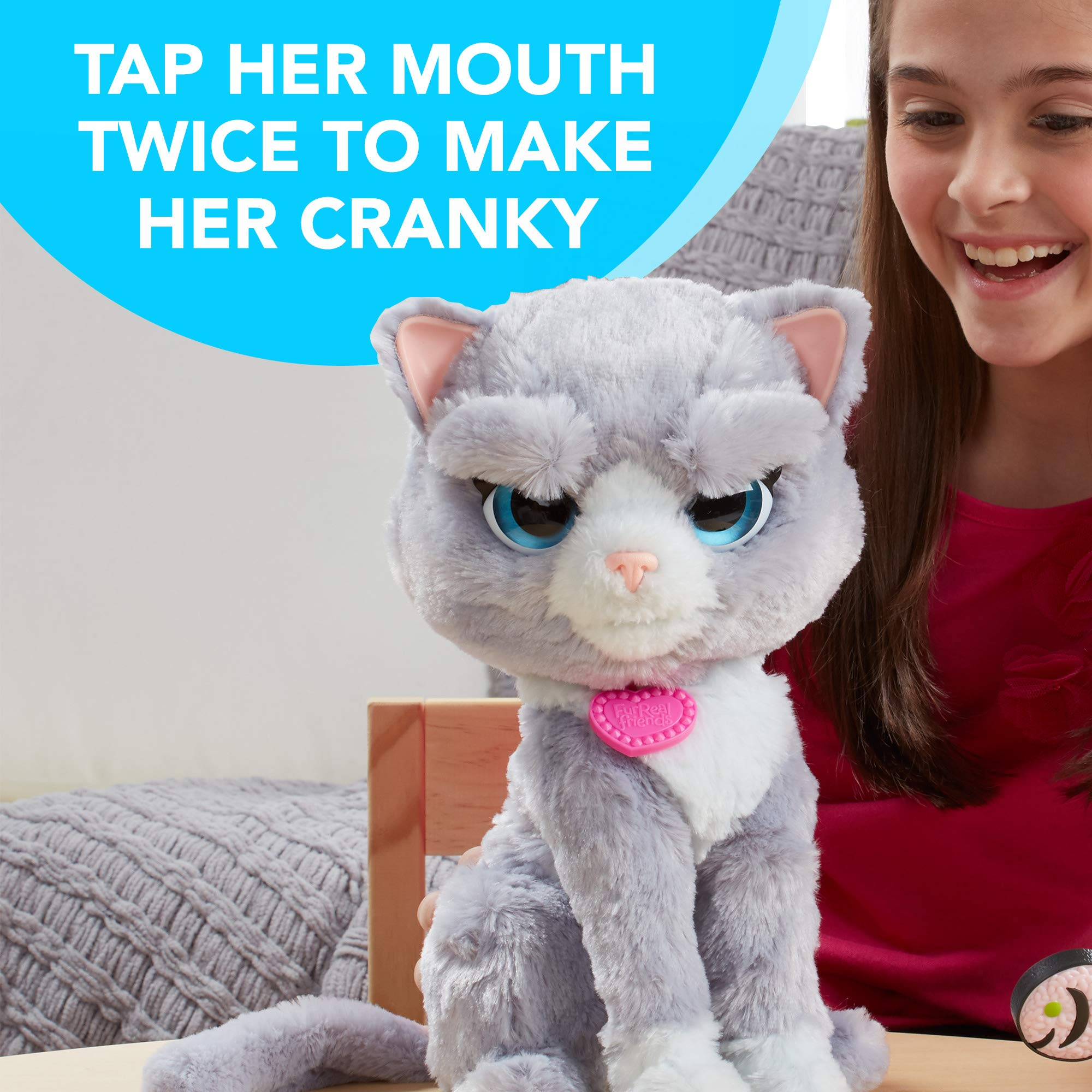 FurReal B5936AF1 Bootsie Interactive Plush Kitty Toy, Ages 4 & Up by FurReal (Image #4)