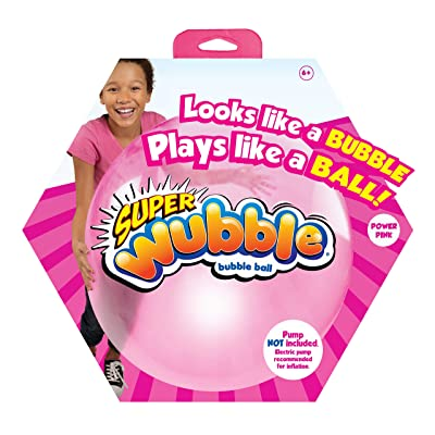 Wubble Super NS20167.4300 Bubble Ball, Pink: Toys & Games
