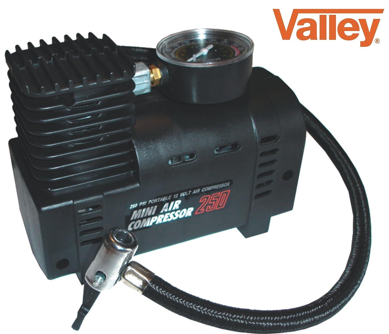 Valle Mini compresor de aire eléctrico neumático Infaltor Bomba de 12 V de coche 12 V: Amazon.es: Coche y moto