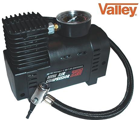 mini air compressor for car. valley mini air compressor electric tire infaltor pump 12 volt car 12v for l