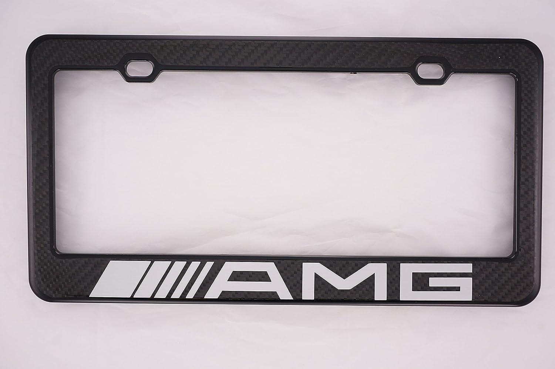 Magnificent mercedes benz license plate frame illustration for Mercedes benz amg carbon fiber license plate frame