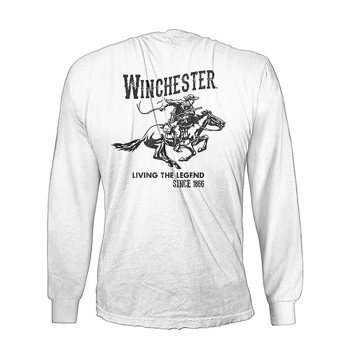 Amazon.com: Winchester oficial Vintage de algodón para ...