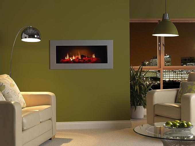 DIMPLEX OPTI-V Cassette OPTI-V Single Built-in Fireplace Eléctrico Negro Interior - Chimenea (230 V, 50 Hz, 35 W, 75 W, 762 mm, 335 mm): Amazon.es: Hogar
