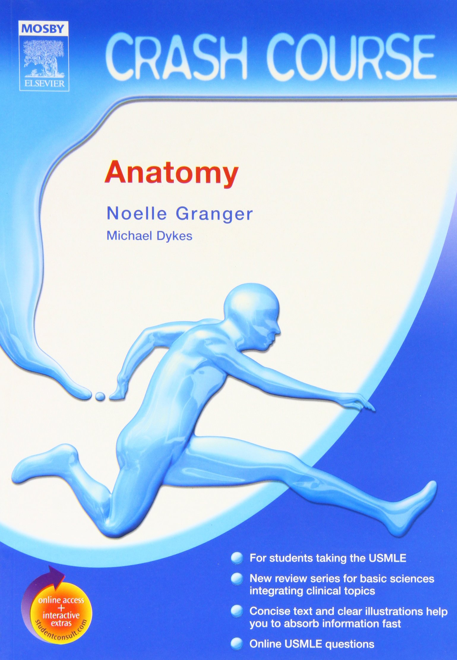 Crash Course (US): Anatomy, 1e: Amazon.co.uk: Noelle Granger PhD ...