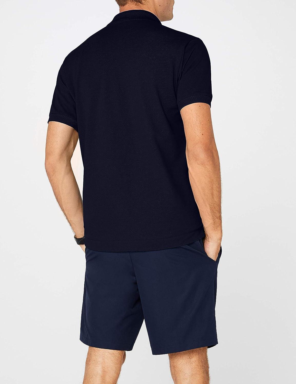 02113c9f Lacoste Mens Short Sleeve Pique L.12.12 Classic Fit Polo Shirt, L1212