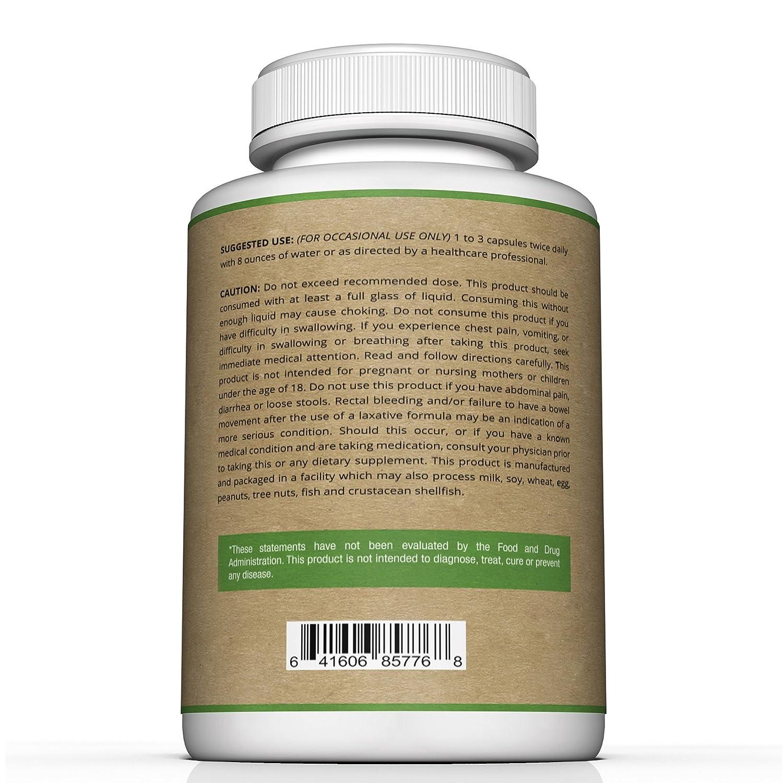 Amazon.com: Best Psyllium Husk Capsules - 725mg Per Capsule -240 ...