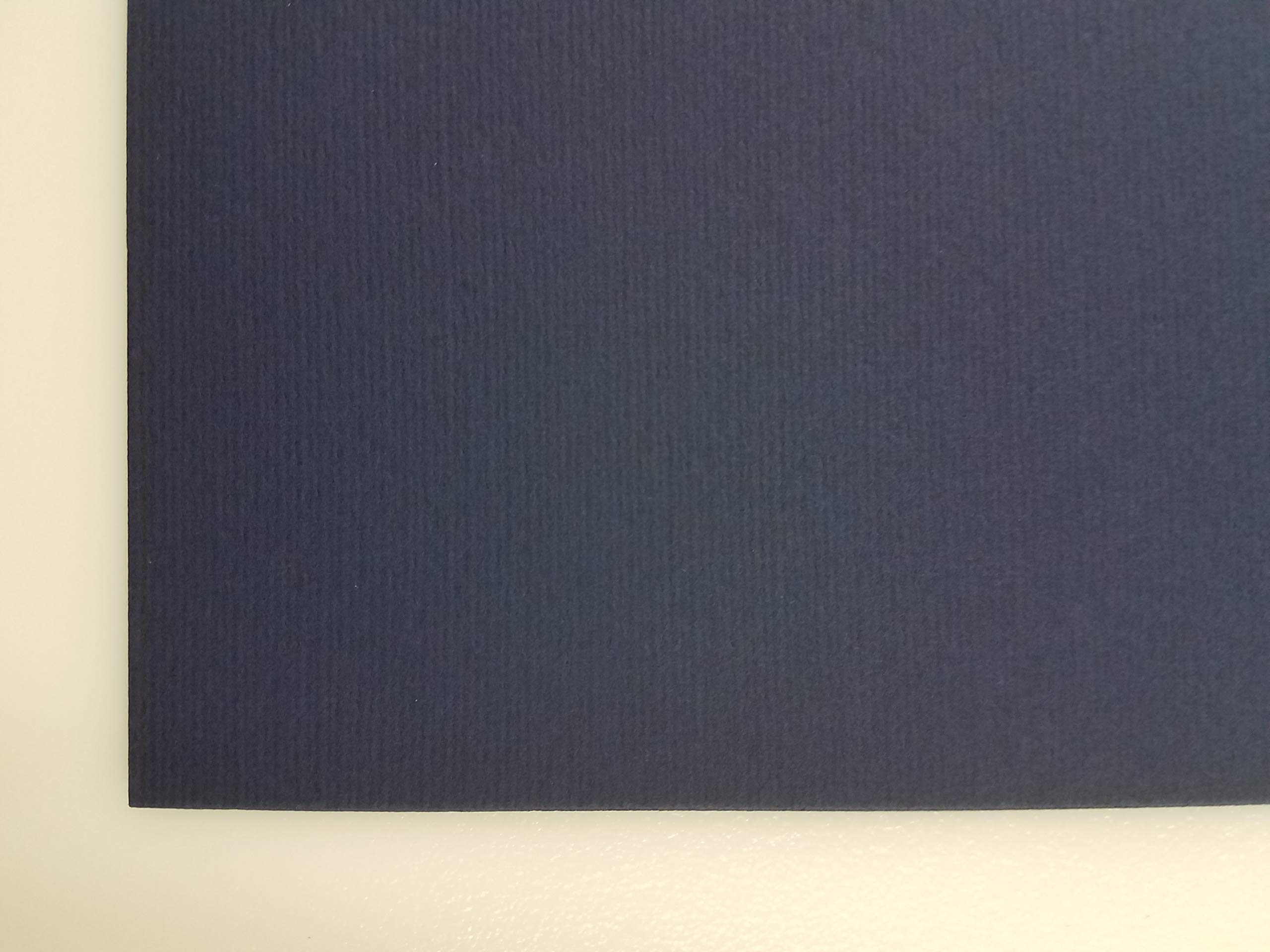Murillo Fabriano, 27'' x 19'' - 360 GSM - Navy Blue #920 (10 Sheet Package) by Murillo