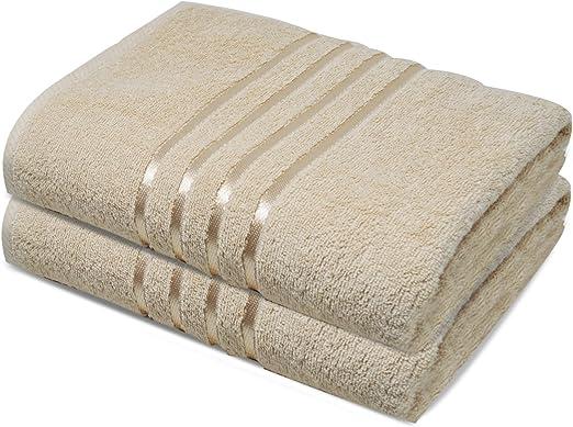 Toallas de baño Towelogy® 100% algodón egipcio orgánico Jumbo ...