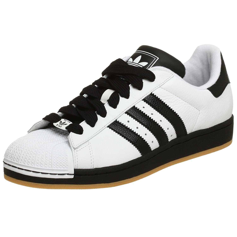 Adidas Superstar 2 Hvit Svart Gummi iqy4b5t5p