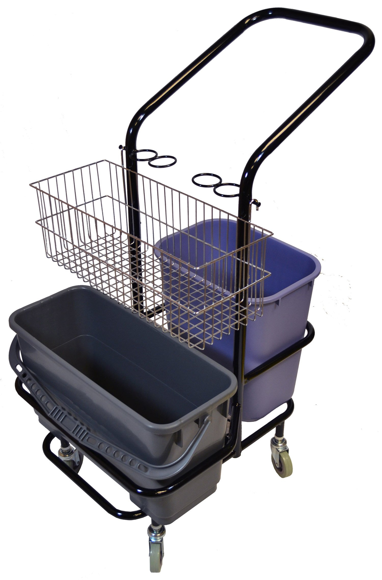 Golden Star T4216 Janitor Microfiber Trolley, 4 Wheel