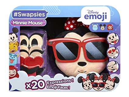 Disney Emoji - 71246.4300 - Swapsies Minnie - Ma Peluche Qui Change dExpression