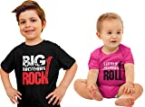 Nursery Decals and More Sibling Shirt Set, Big
