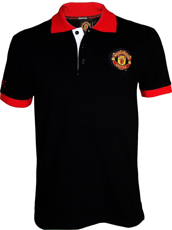 Polo Manchester United, colección Oficial, Talla DE Adulto, Hombre ...