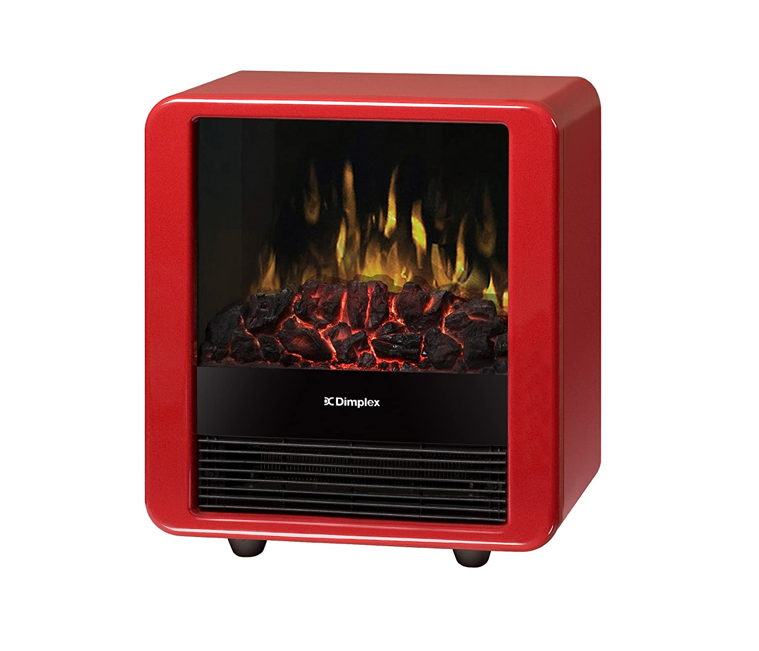 Amazon.com: Dimplex Mini Cube Electric Stove, DMCS13R, Red: Home ...