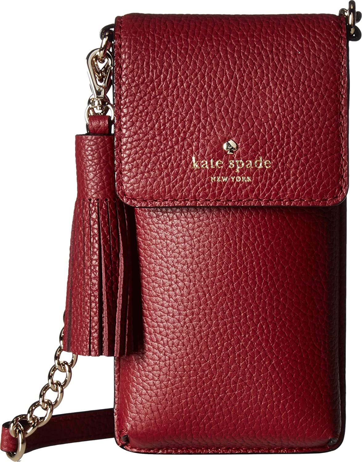 Kate Spade New York Women's North/South Crossbody Phone Case for iPhone¿ 6, 6s, 7, 8 Fig Jam One Size