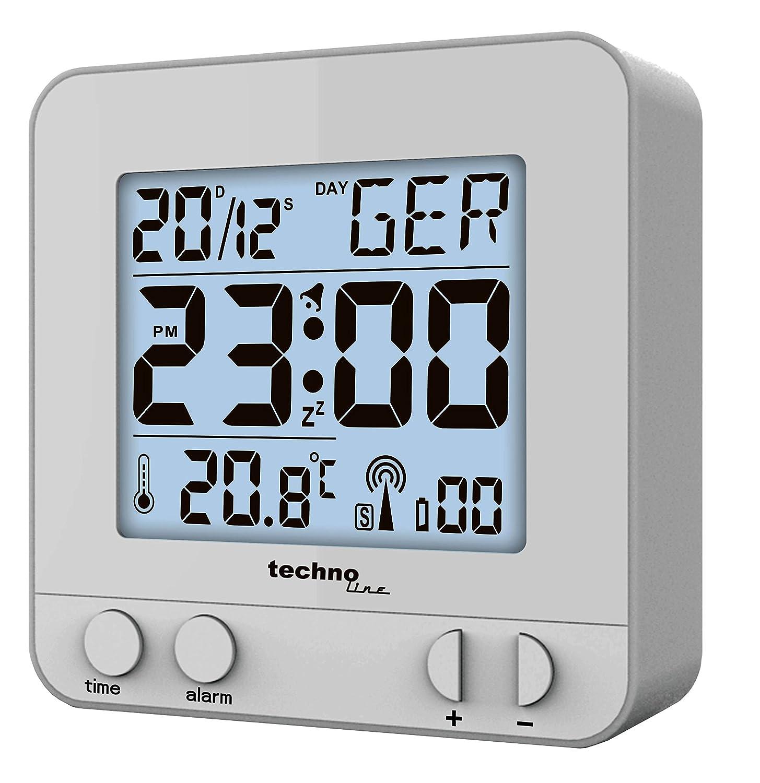 Technoline WT 235 Digital alarm clock Plata - Despertador ...