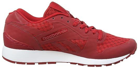Reebok GL 6000 Hidden Messaging Tech Pack, Zapatillas para Hombre, Rojo (AQ9818_41 EU_Excellent Red/White/Black), 42 EU