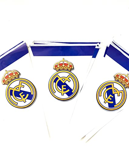 Amazon Com Real Madrid Fc Birthday Party Decoration Flags Toys Games
