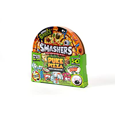 Smashers Series 2 Gross Puke Pizza Collectors Tin: Toys & Games