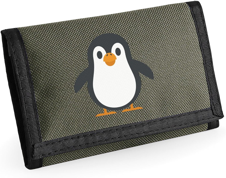 Apparel Printing Emoji Penguin Ripper Wallet