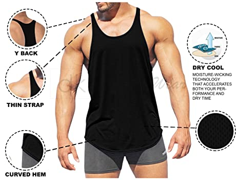 5fbef6a89089f Buy dk Active Wear Bodybuilding Tank Top