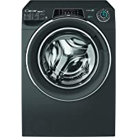 Candy WasherDryer 9kg wash + 6kg dry - 1400rpm - Anthracite - Chrome Ring - Rapido - Wifi+BT - Steam - Class AAA - 6D…