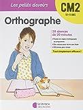 Orthographe CM2