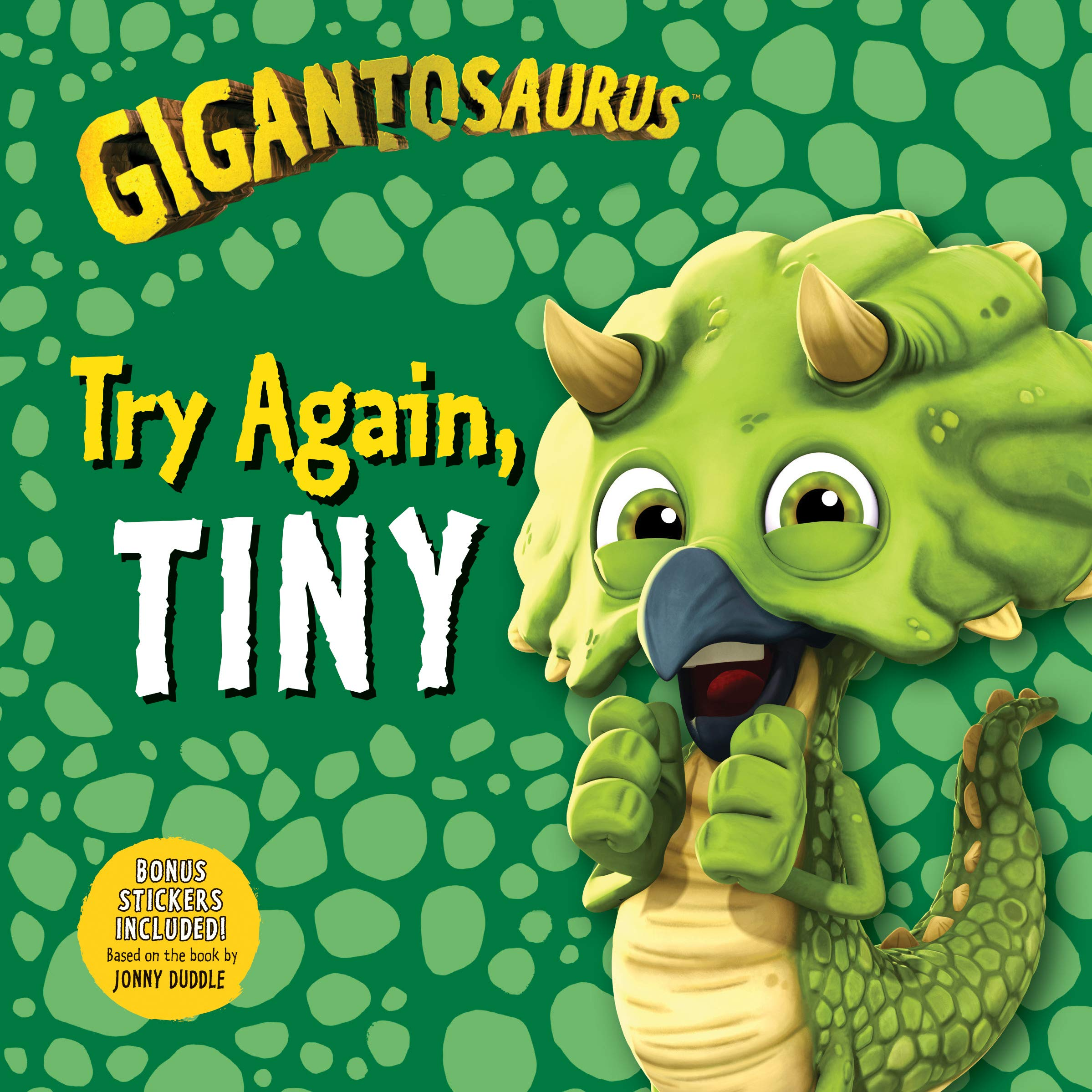 Gigantosaurus: Try Again, Tiny: Cyber Group Studios, Cyber Group Studios:  9781536214093: Amazon.com: Books