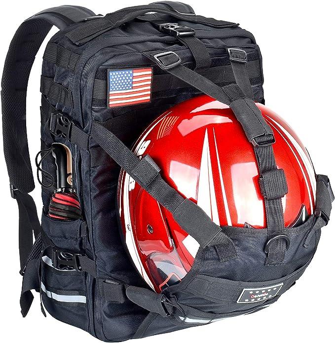 金火防水膨胀摩托车背包