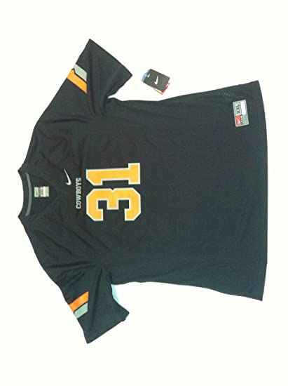 Image Unavailable. Image not available for. Color  Nike Men s Oklahoma  State Cowboys Black  31 Football Game Jersey 5296985c2