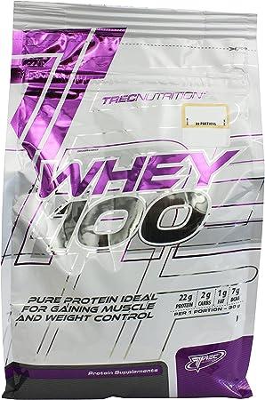 Trec Nutrition Whey 100, concentrado de proteína: Amazon.es ...