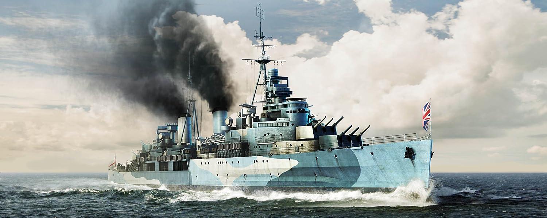 トランペッター 1/350 イギリス海軍軽巡洋艦 HMSベルファスト 1942 プラモデル B00CIH25TC